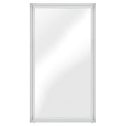 "Glam 48"" Floor Mirror - Silver"