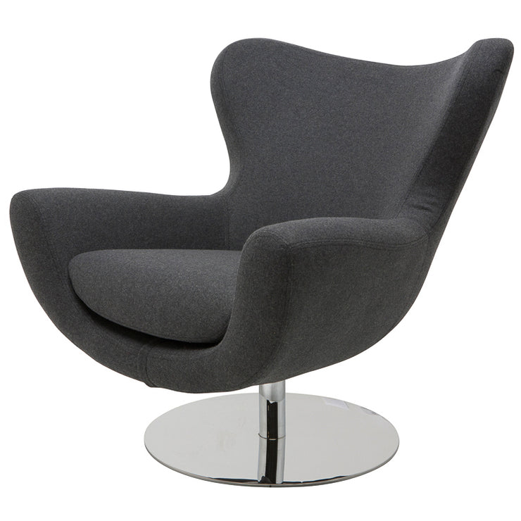 Conner Occasional Chair - Dark Grey