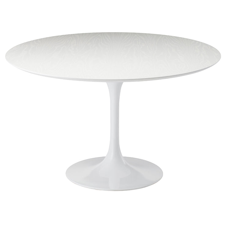 Echo Oval Dining Table - White