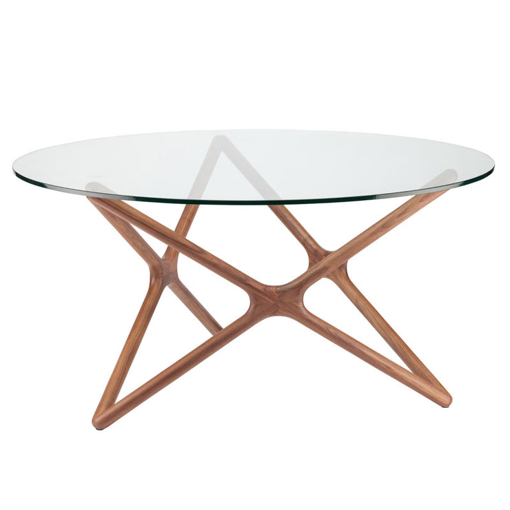 Star Dining Table - Clear