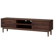 Adele Media Unit Cabinet - Walnut