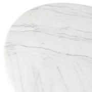 Echo Dining Table - White Marble