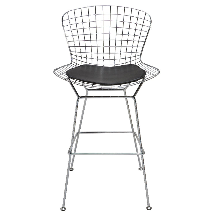 Wireback Counter Stool - Black