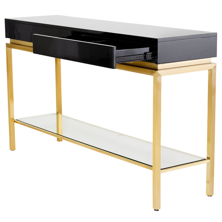 Isabella Console Table - Black