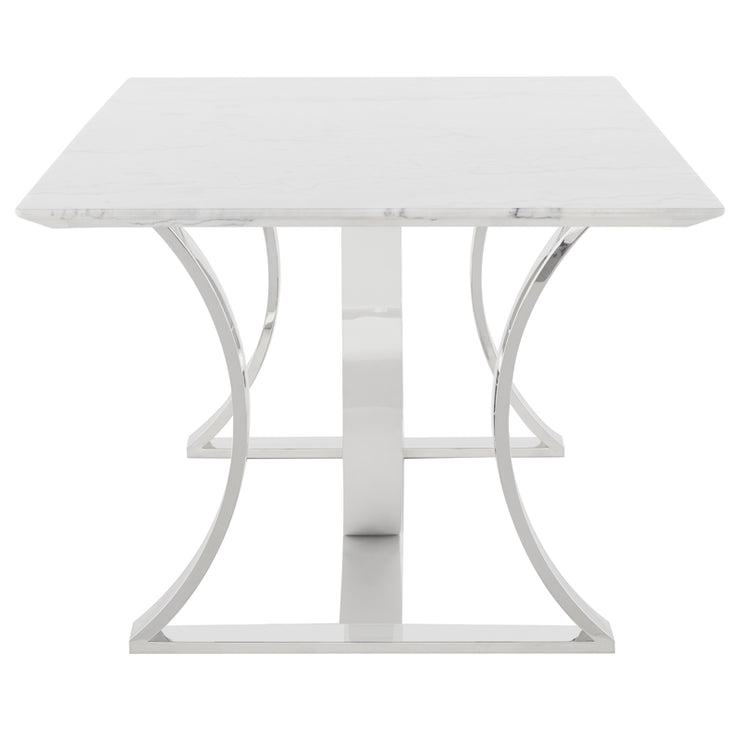 Orielle Dining Table - White Marble
