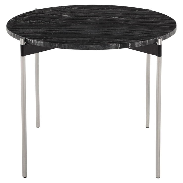 Pixie Side Table - Black Wood Vein