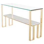 Tierra Console Table - White