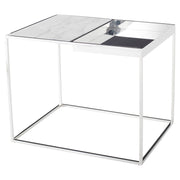 Corbett Side Table - White