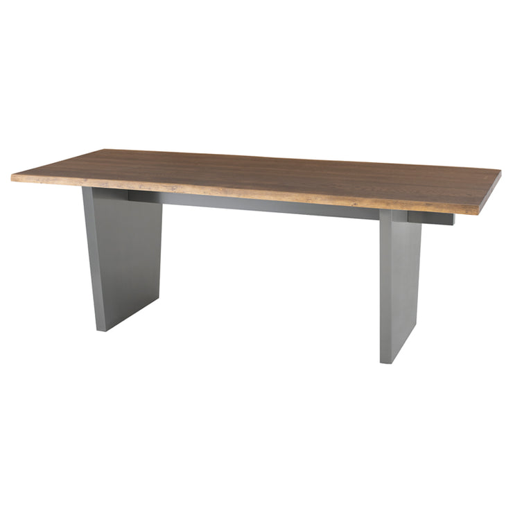 Aiden Dining Table - Seared / Graphite