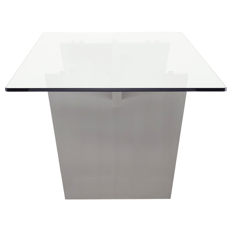 Aiden Dining Table - Glass Top