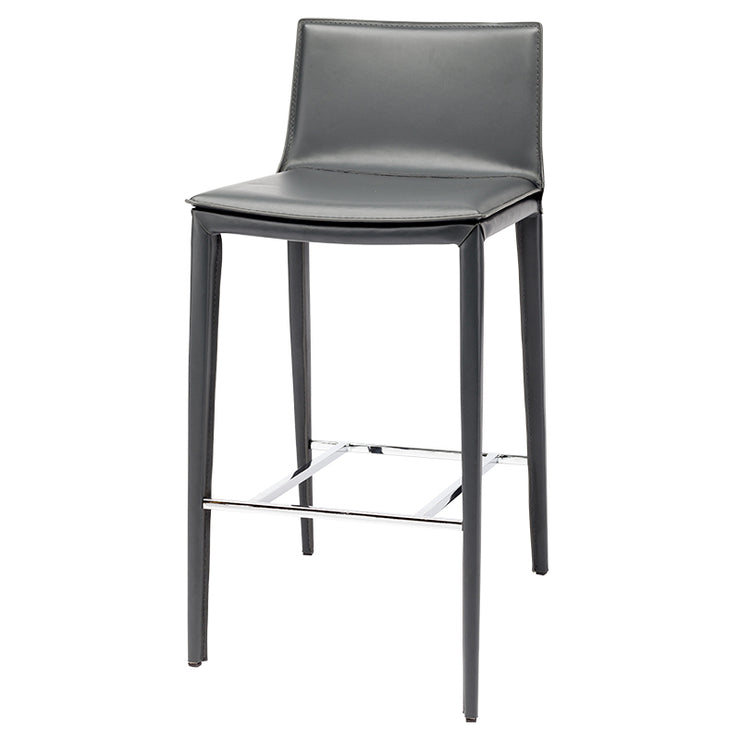 Palma Bar Stool - Dark Grey