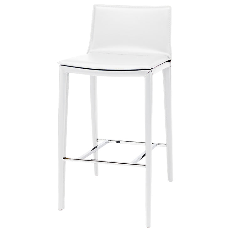 Palma Bar Stool - White