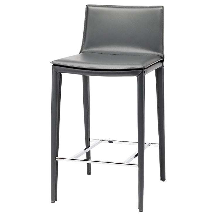Palma Counter Stool - Dark Grey