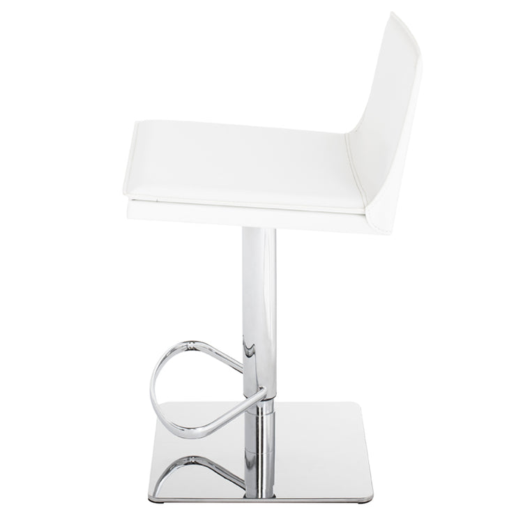 Palma Adjustable Stool - White