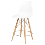 Charlotte Counter Stool - White