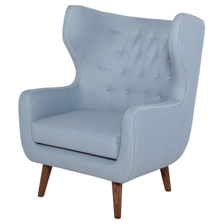 Valtere Occasional Chair - Caribbean Blue
