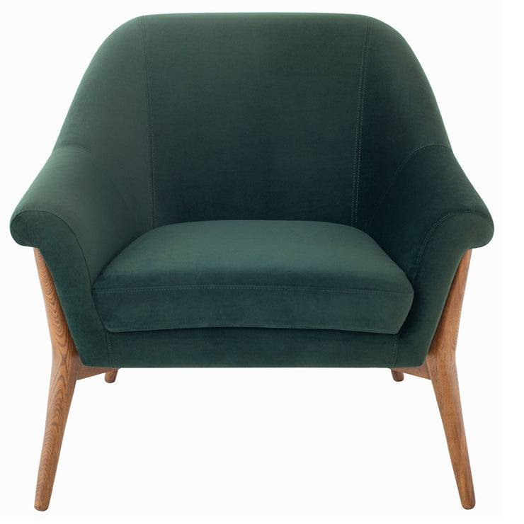 Charlize Occasional Chair - Emerald Green