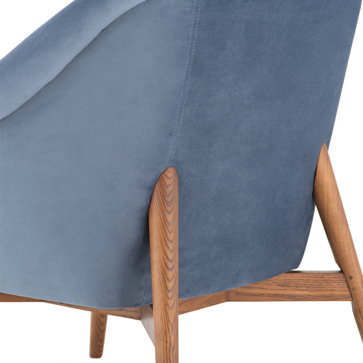 Charlize Occasional Chair - Dusty Blue