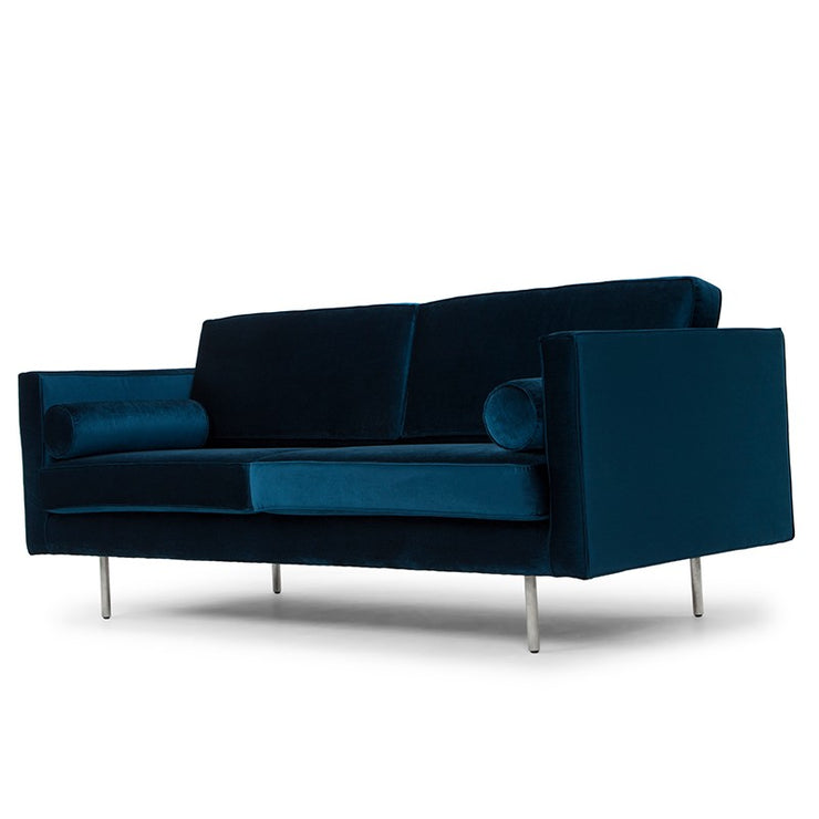 Cyrus Triple Seat Sofa - Midnight Blue
