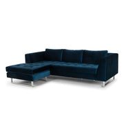 Matthew Sectional Sofa - Midnight Blue