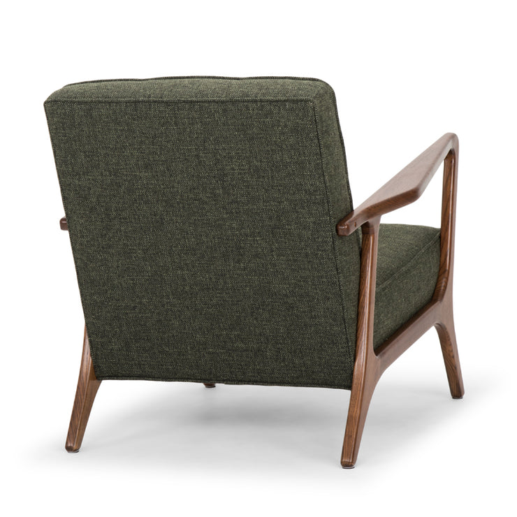 Eloise Occasional Chair - Hunter Green Tweed