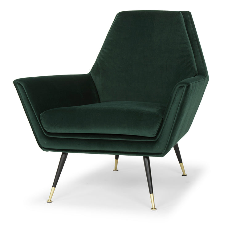 Vanessa Occasional Chair - Emerald Green