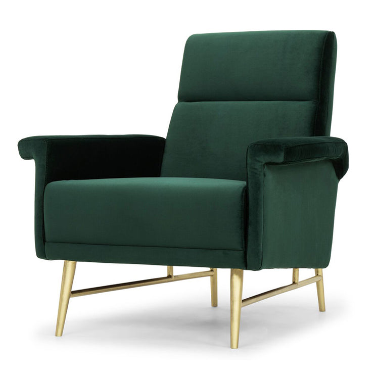 Mathise Occasional Chair - Emerald Green