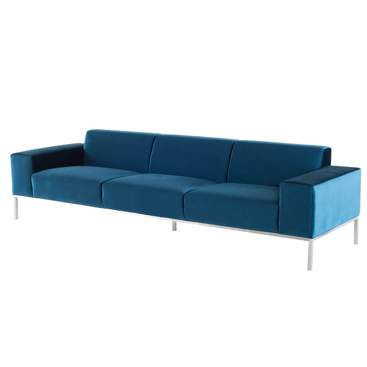 Bryce Triple Seat Sofa - Midnight Blue