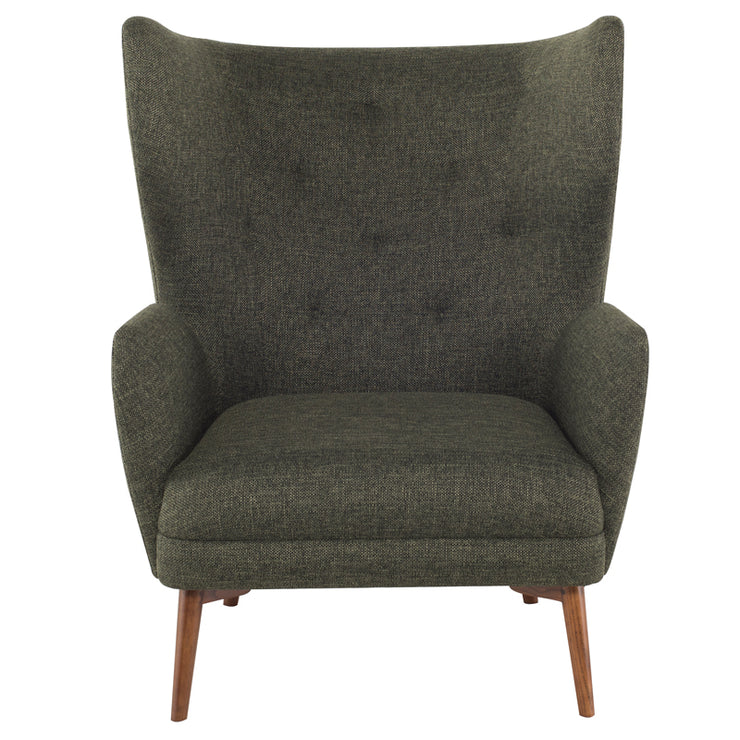 Klara Occasional Chair - Hunter Green Tweed
