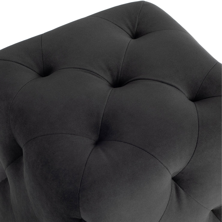 Tufty Cube Ottoman Sofa - Shadow Grey
