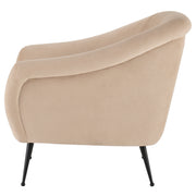 Lucie Occasional Chair - Nude