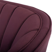Aria Double Seat Sofa - Mulberry