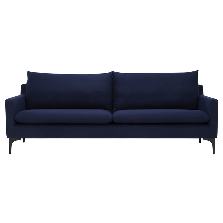 Anders Triple Seat Sofa - Navy Blue