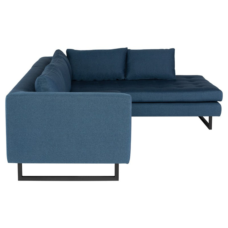 Janis Sectional Sofa - Lagoon Blue