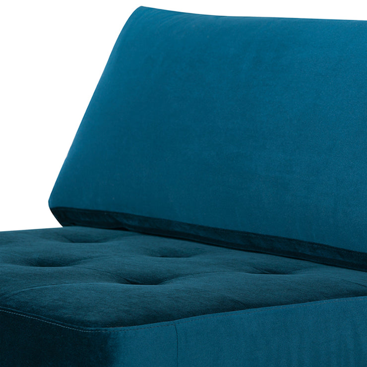 Janis Sectional Extension - Midnight Blue / Black