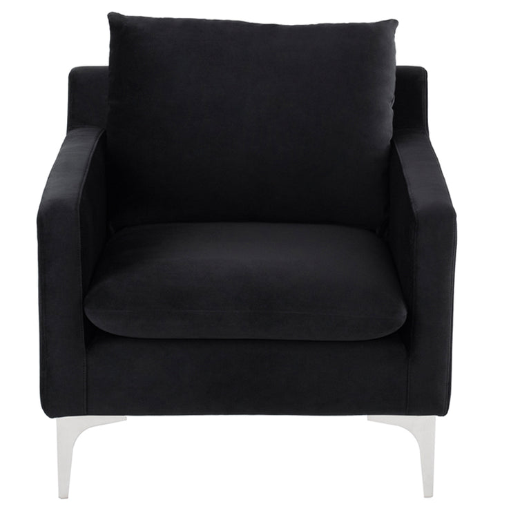 Anders Occasional Chair - Black