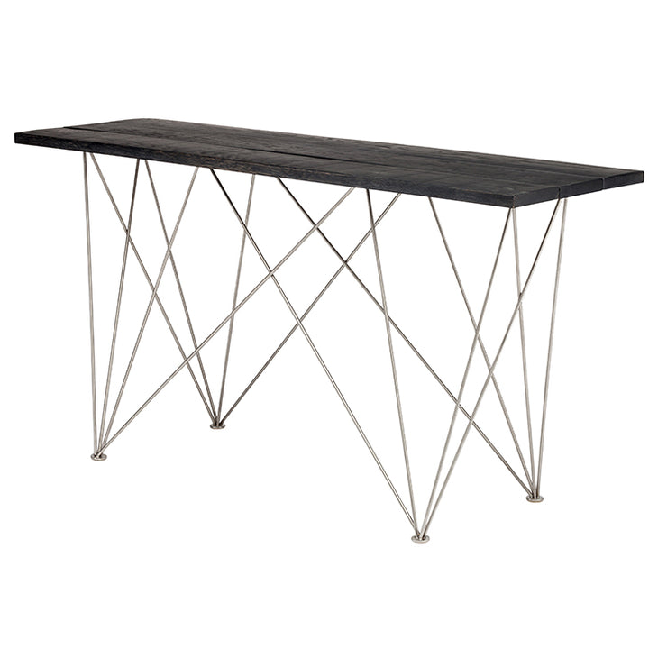 Zola Console Table - Ebonized