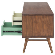 Maarten Media Unit Cabinet - Walnut