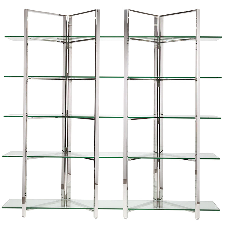 Elton Display Shelving - Silver