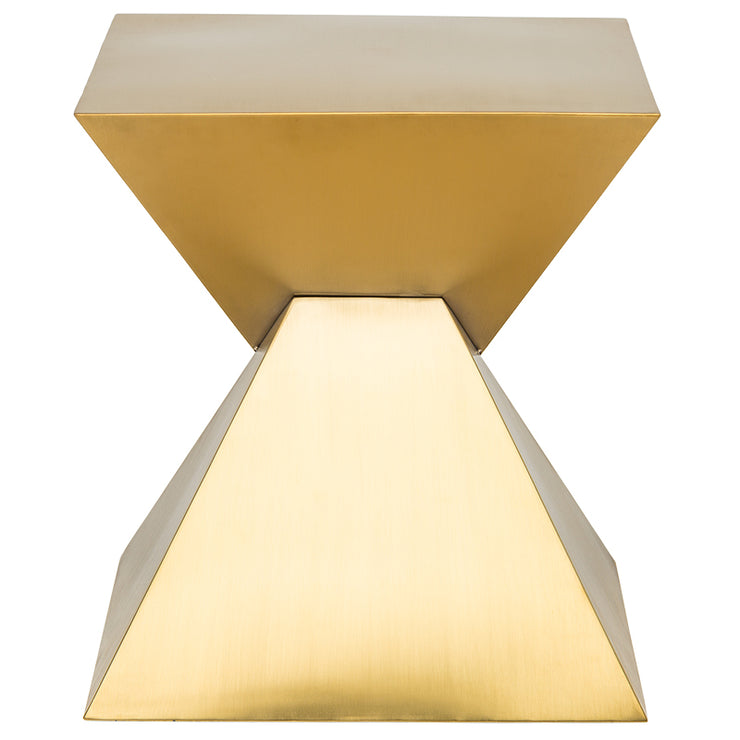 Giza Steel Side Table - Gold