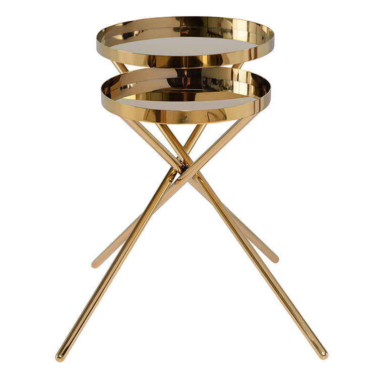 Olivia Side Table - Gold