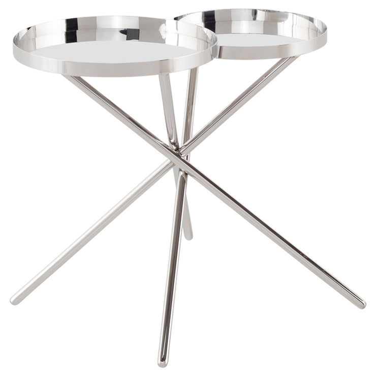 Olivia Side Table - Silver