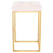 Chi Bar Stool - Powder Pink