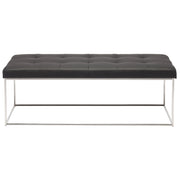 Caen Occasional Bench - Black