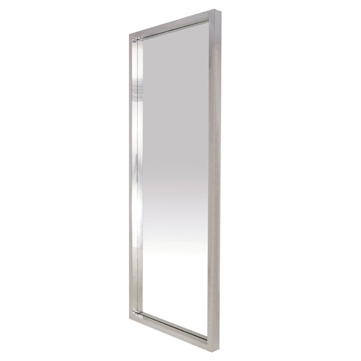"Glam 34"" Floor Mirror - Silver"