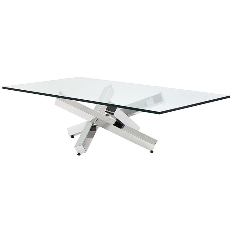 Henri Coffee Table - Silver