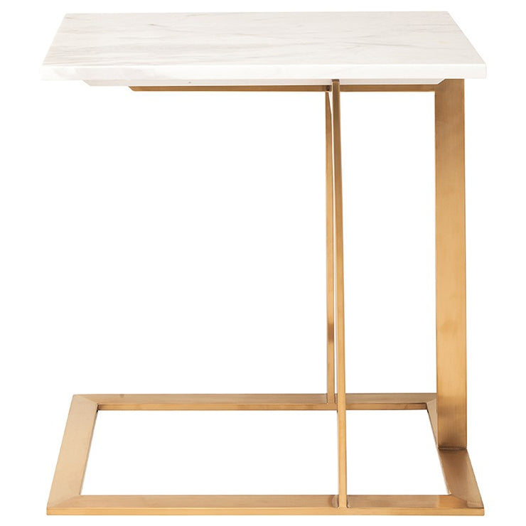 Dell Side Table - White
