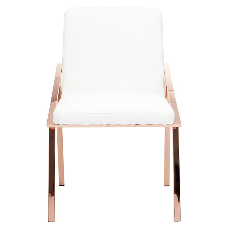 Nika Dining Chair - White