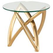 Martina Side Table - Gold