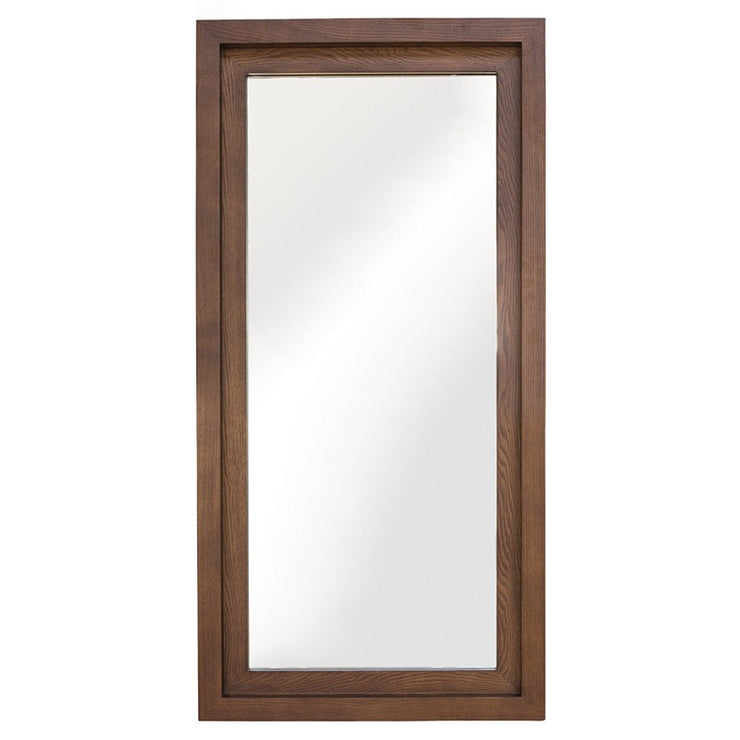 Glam Wall Mirror - Walnut